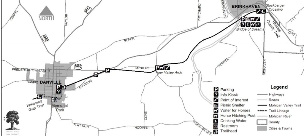 Mohican Valley Trail Map