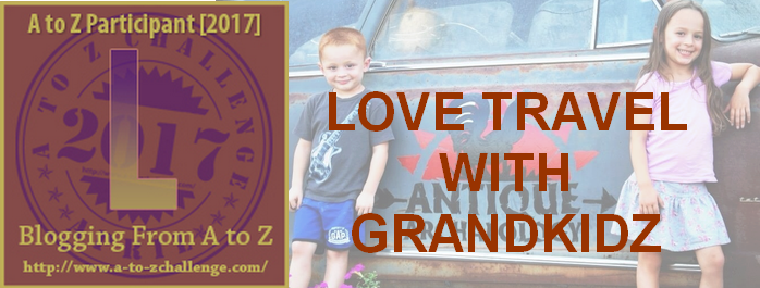 L is for Love Traveling With Grandchildren – #atozchallenge