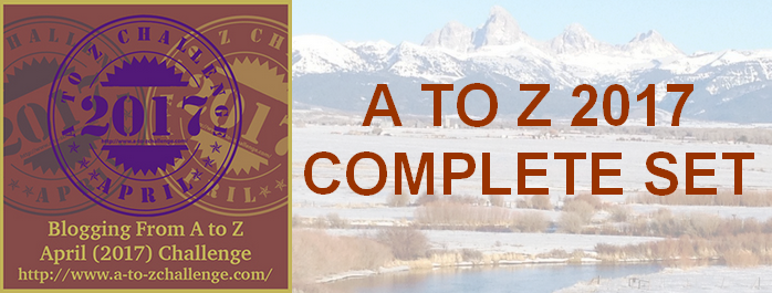 Blogging A to Z Challenge – The Complete List for 2017 – #atozchallenge