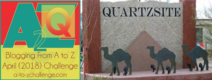 A Grab Bag from America's Back Roads – The Q Things #AtoZChallenge