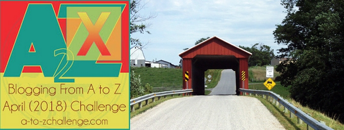 A Grab Bag from America's Back Roads – The X Things #AtoZChallenge