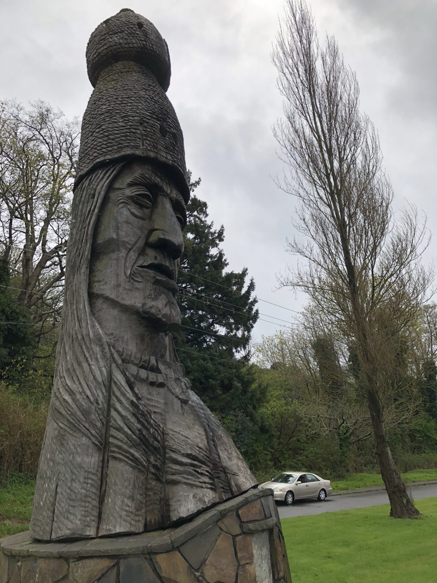 April 2018 Cross-Country Road Trip: Peter Toth's Whispering Giants