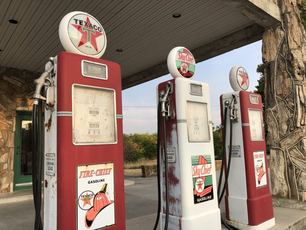 Old Texaco Stations – Less Beaten Paths of America Travel Blog