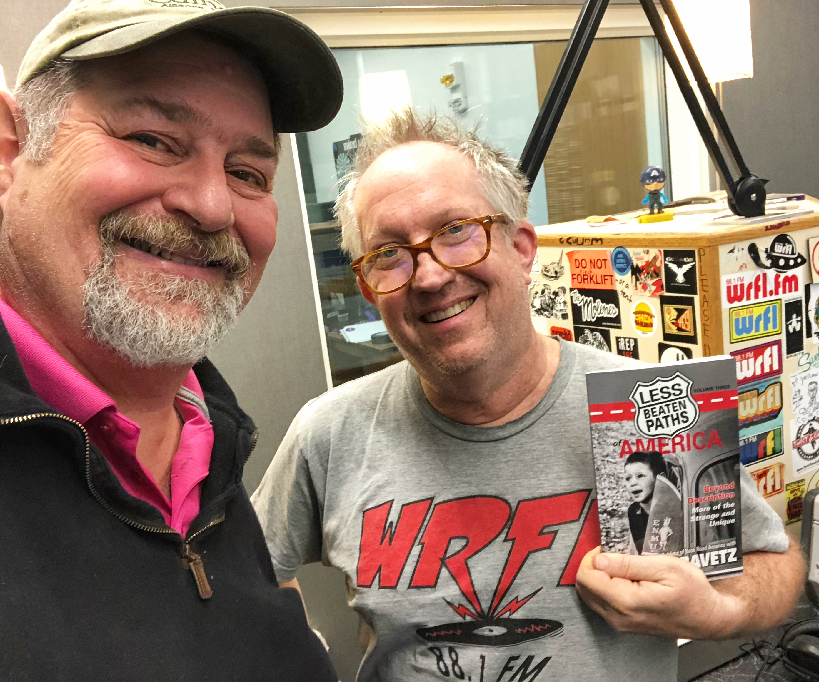 Radio Interview on WRFL Trivial Thursdays with Mick Jeffries – November 7, 2019