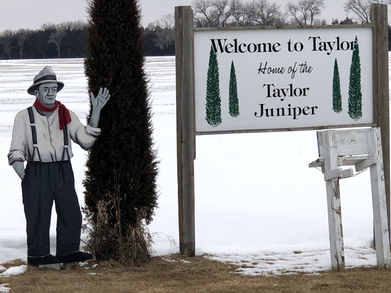 8154: Taylor, Nebraska and the Taylor Villagers