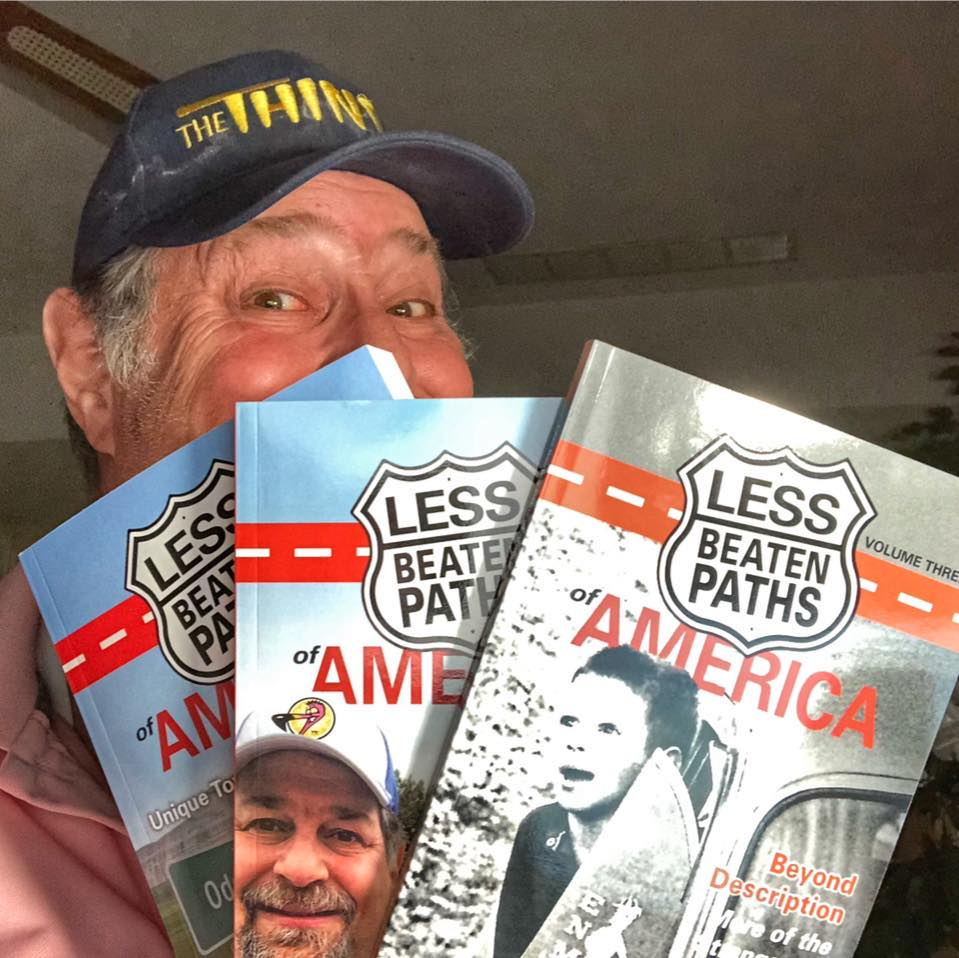 Less Beaten Paths Books hit Top 3 in Amazon today
