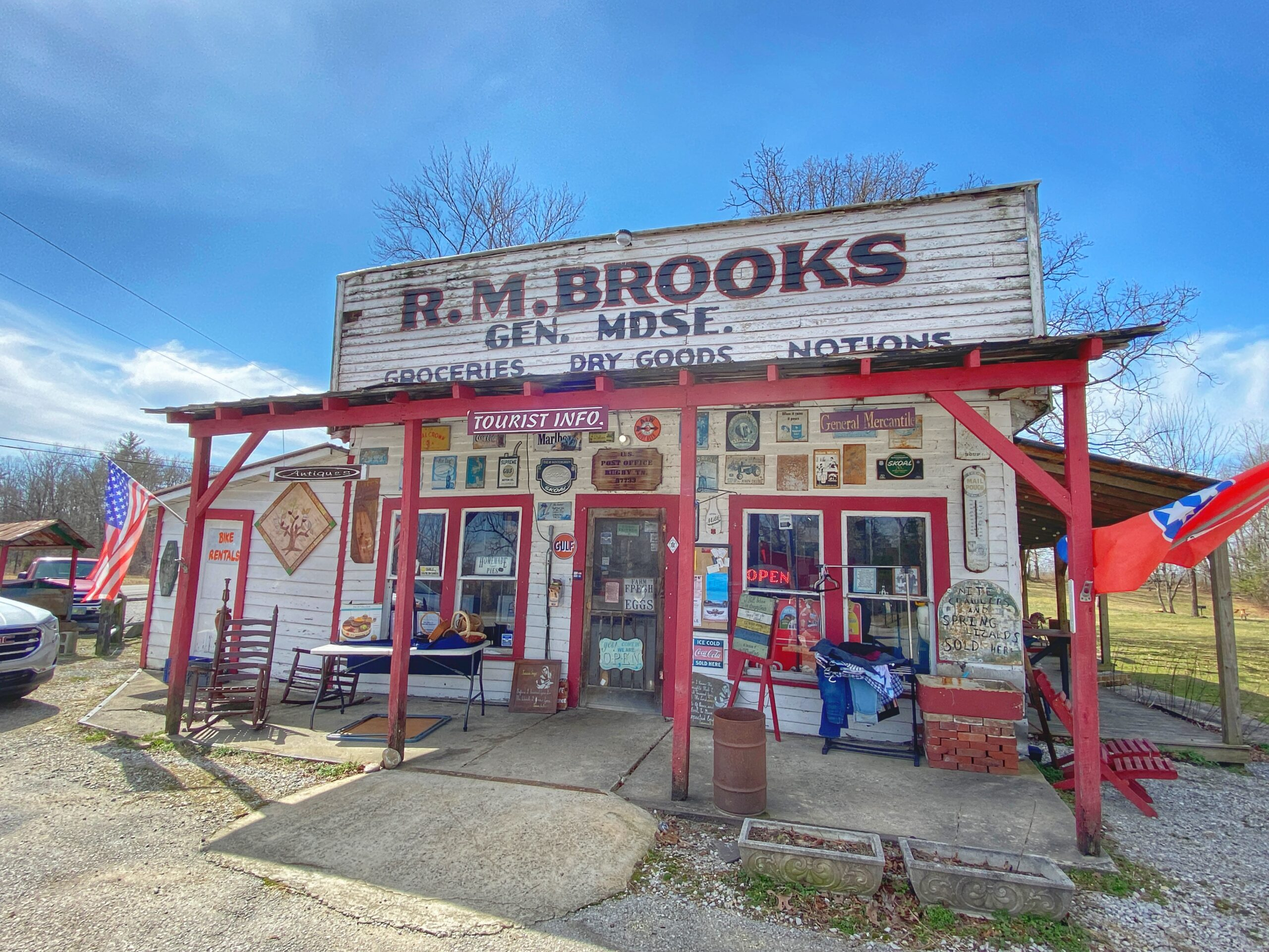 Old-Timey General Stores Part 2: R.M. Brooks General Store – Rugby, TN