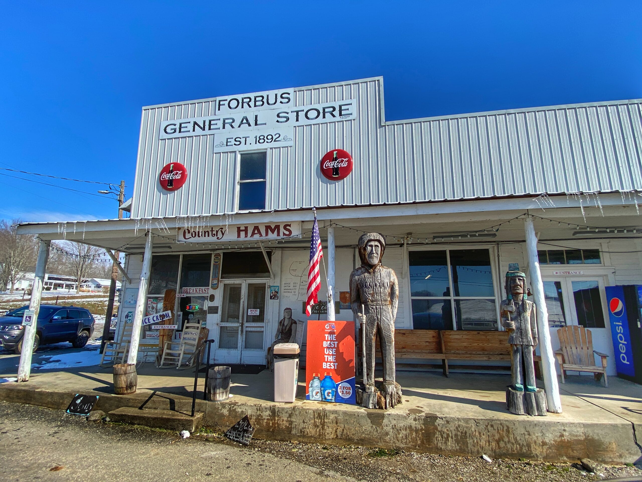 Old-Timey General Stores Part 1: Forbus General Store – Pall Mall, TN
