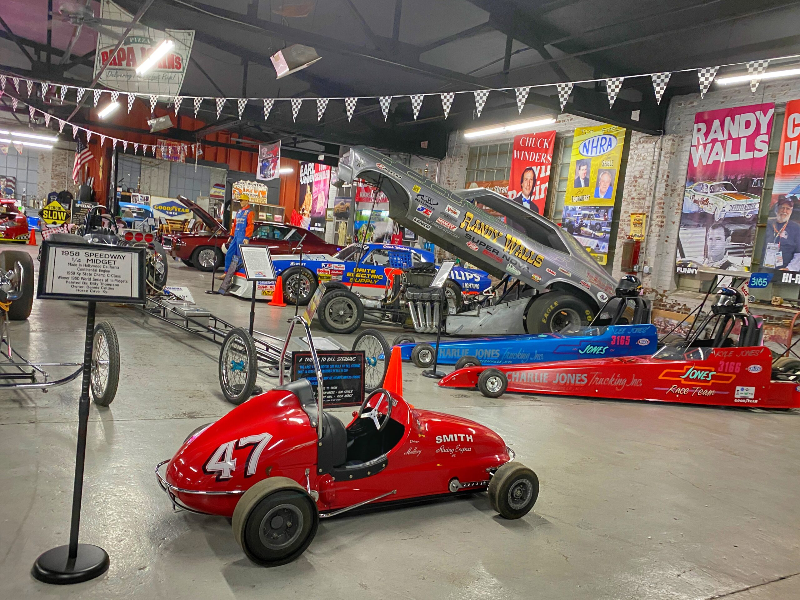 Visiting Muhlenberg County, Kentucky: The Music and Motorsports Museums – Part II